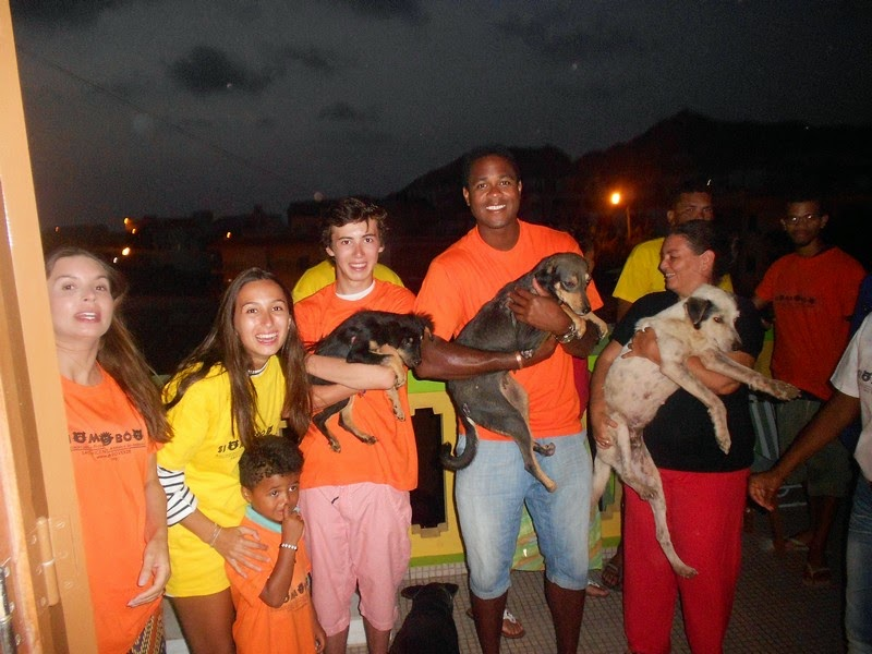 dog patinha volunteers