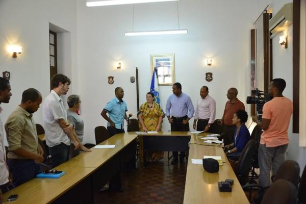 simabo, silvia punzo and municipality sao vicente