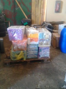 goods sent to simabo