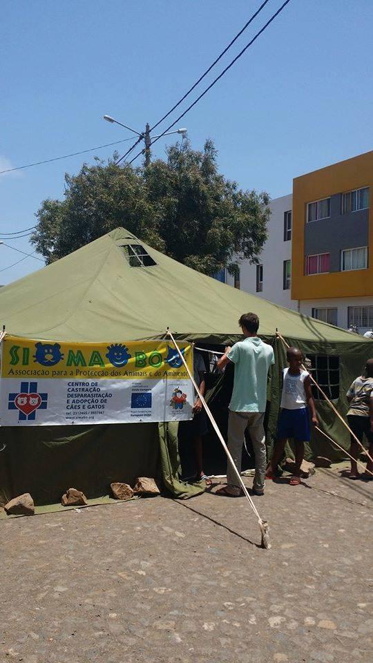 sterilization tent simabo
