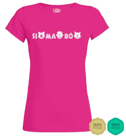 simabo t-shirt woman pink